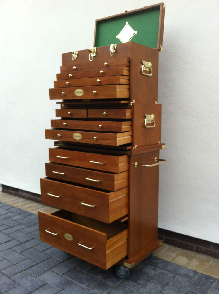 103 Us Pro Tools Wooden Tool Box Chest Wood Cabinet