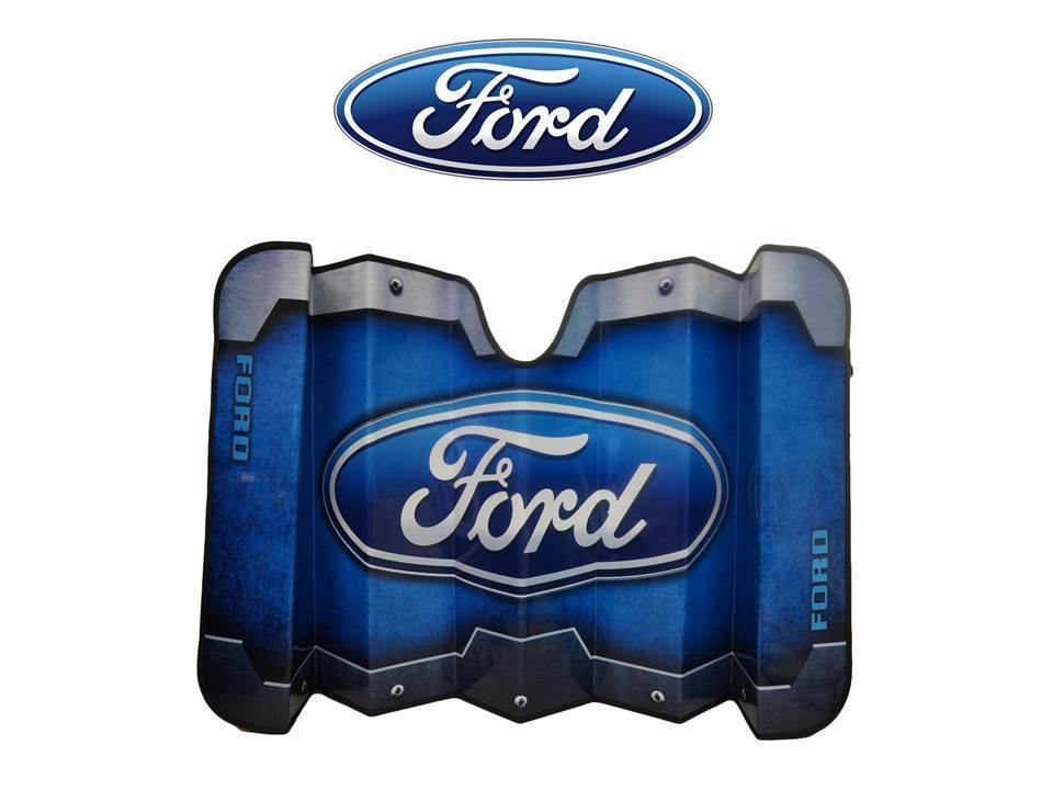 Ford Accordian Windshield Sun Shade Visor Fits All Ford F