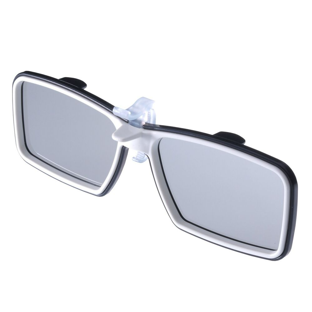 3D Eyewear For Eyeglasses Wearers / Clip-on 3D Glasses