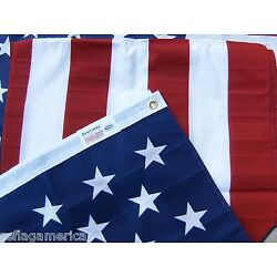 Kyпить Valley Forge US American Flag 3'x5' PRINTED Poly/Cotton 100% Made in the USA на еВаy.соm
