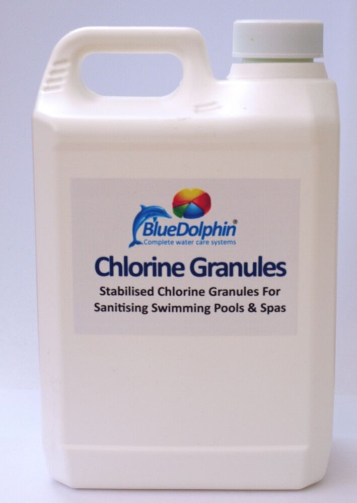 1kg Chlorine Granules For Swimming Pool And Hot Tubs Spas Pure Quality Product Ebay