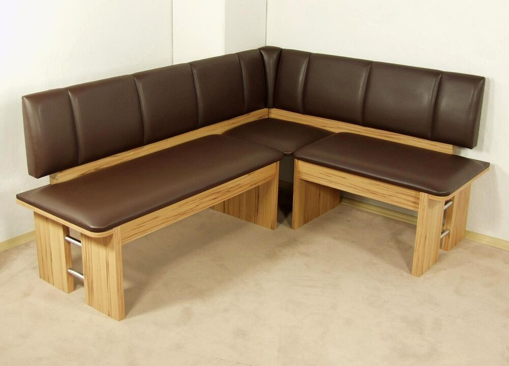 moderne eckbank kernbuche sitzecke esszimmer k che melamin design hochwertig neu ebay. Black Bedroom Furniture Sets. Home Design Ideas
