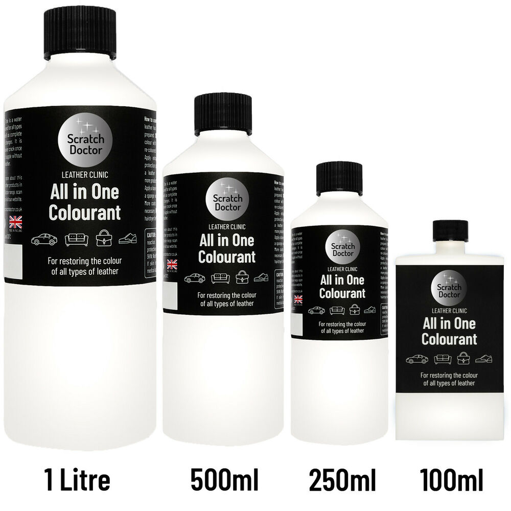 All In One Leather Colourant Dye Stain Paint Re