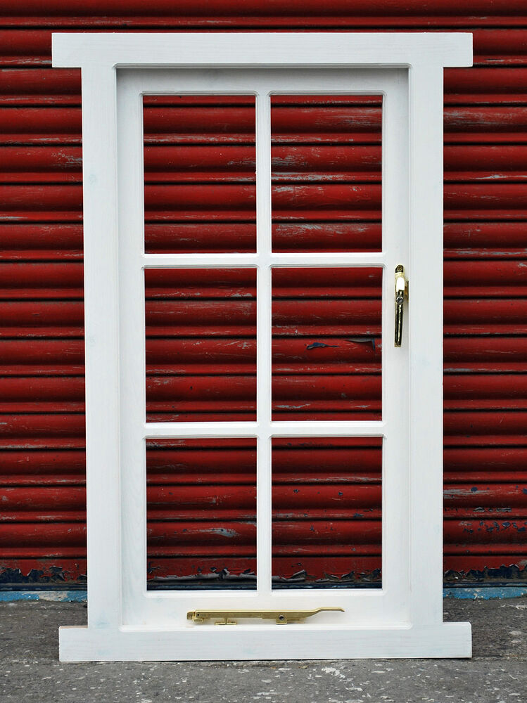 Traditional Timber Georgian Style Casement Window Made To