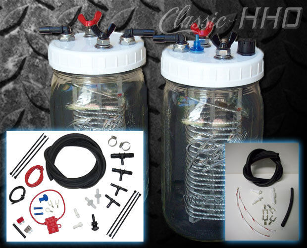 2 Cell Gas Or Diesel Engine Kit Classic Hho Water4gas