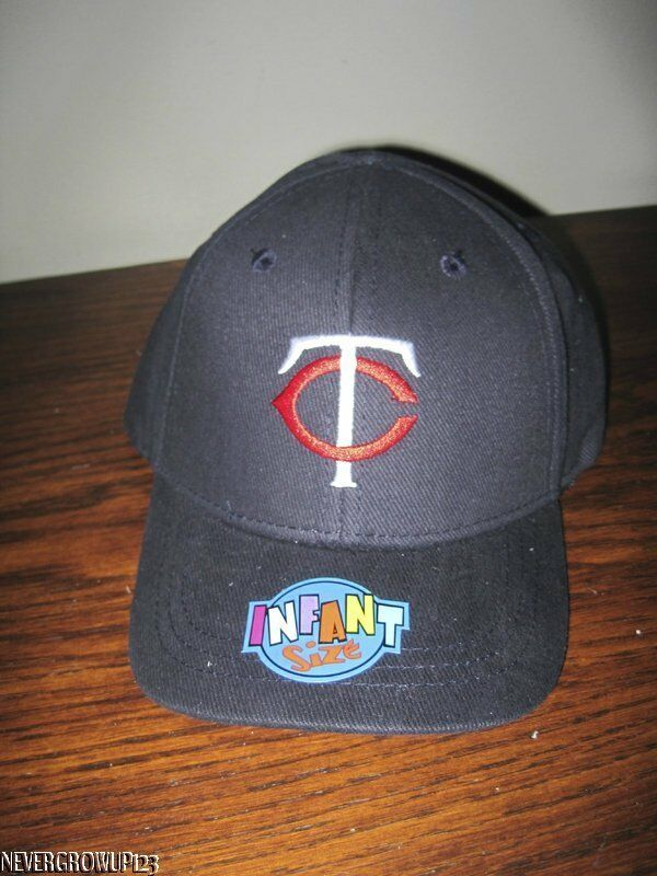 Mlb Minnesota Twins Kids Baby Logo Adjustable Hat Baseball
