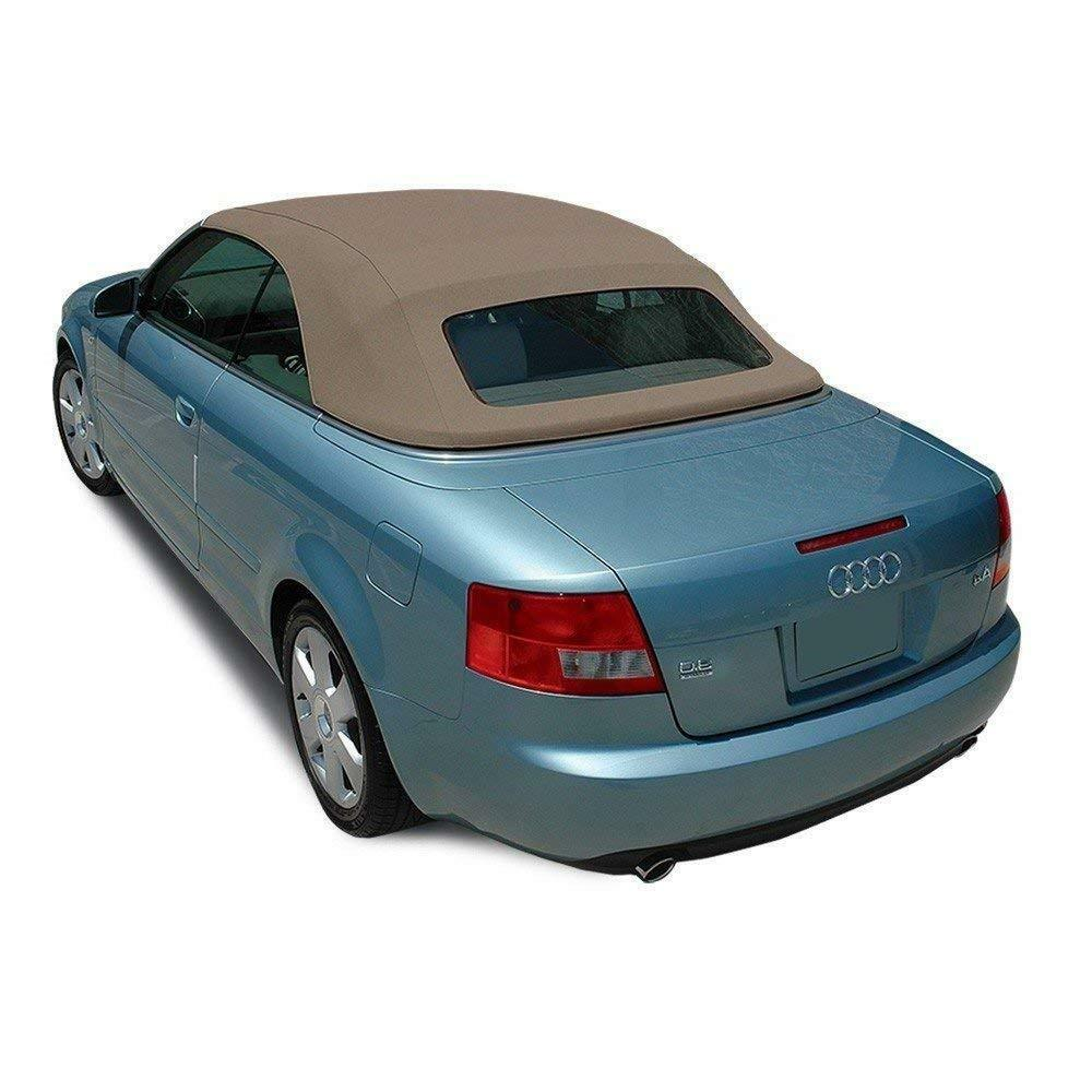 Audi A4 Convertible Soft Top With Heated Glass Window In