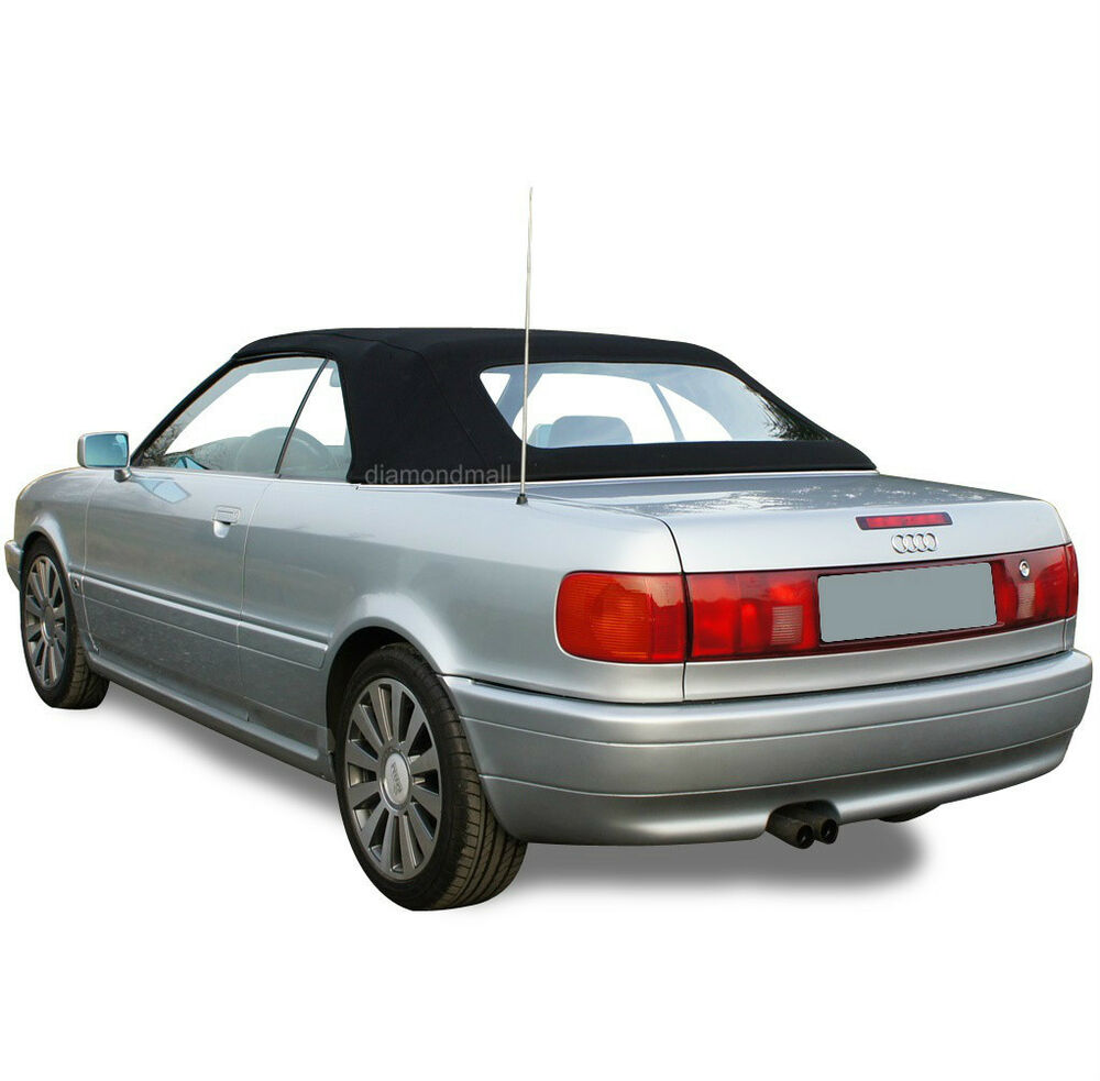 Audi Cabriolet 1992-2000 Convertible Soft Top With Plastic