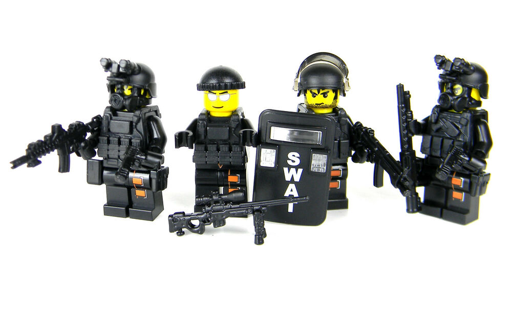 Swat Team Complete Value Police Sku54 Made With Real