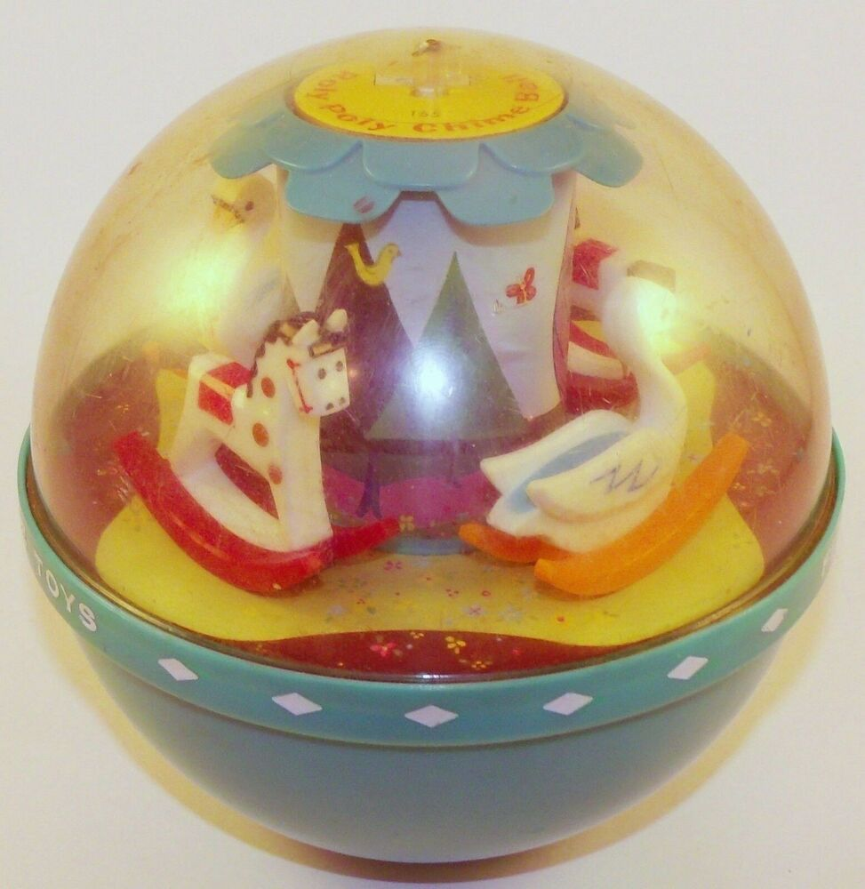 Roly Poly Chime Ball Vintage Fisher-Price Toy 1966   eBay