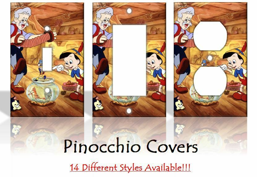 Pinocchio light switch covers disney home decor outlet ebay for Home decor outlet 63125