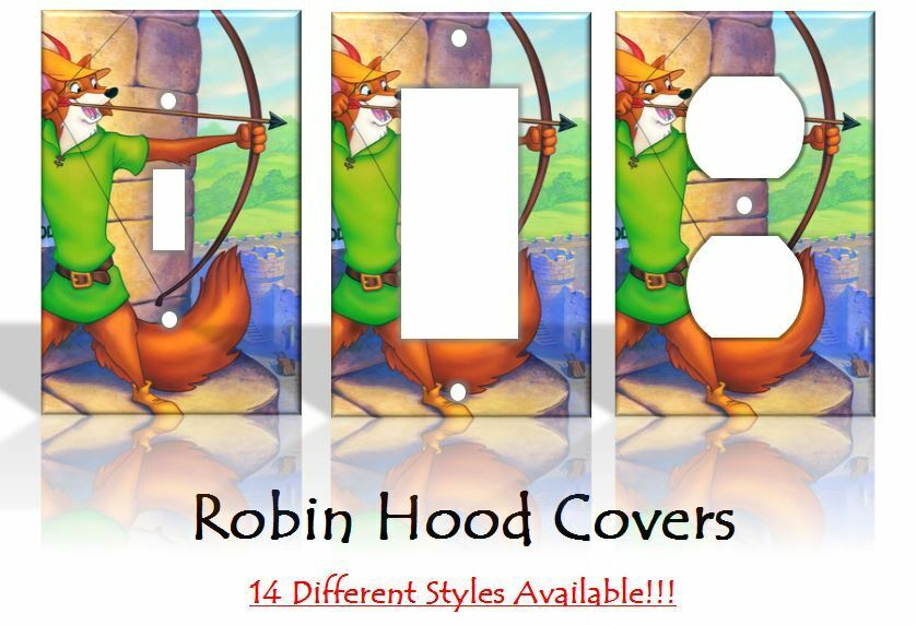 Robin hood light switch covers disney home decor outlet ebay for Home decor outlet 63125