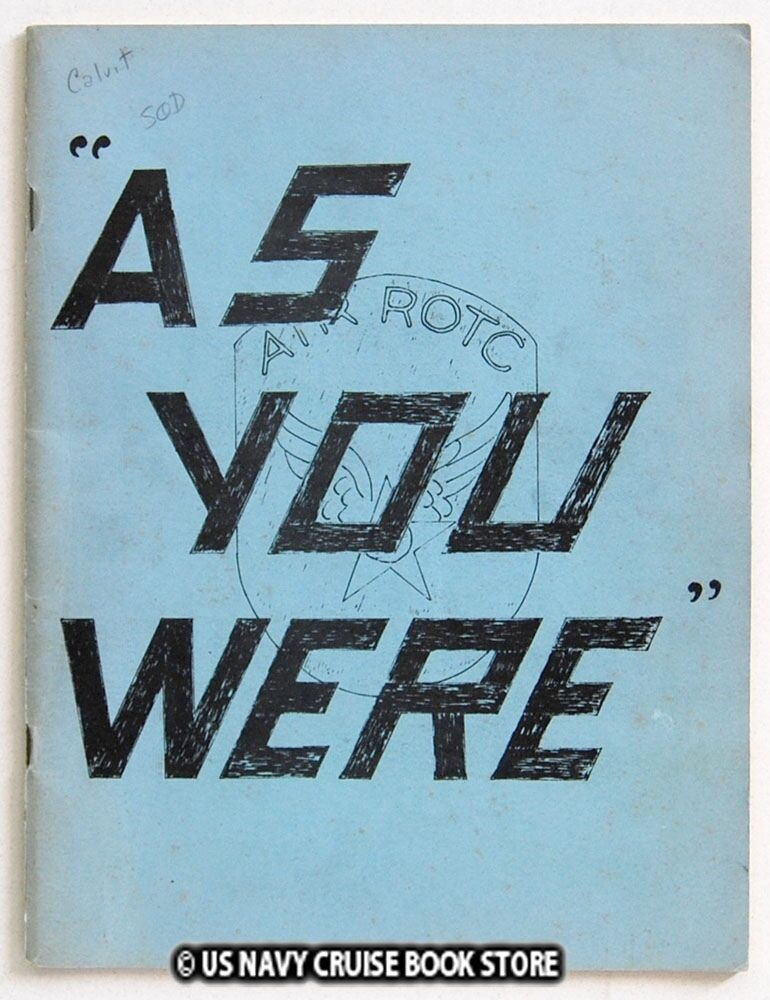 AIR FORCE ROTC EGLIN AFB AIR FORCE BASE 1954 YEARBOOK