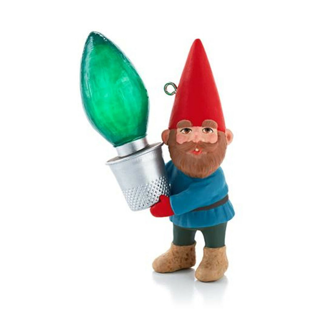 Details about  Hallmark 2013 Gnome for Christmas  Reveal Ornament