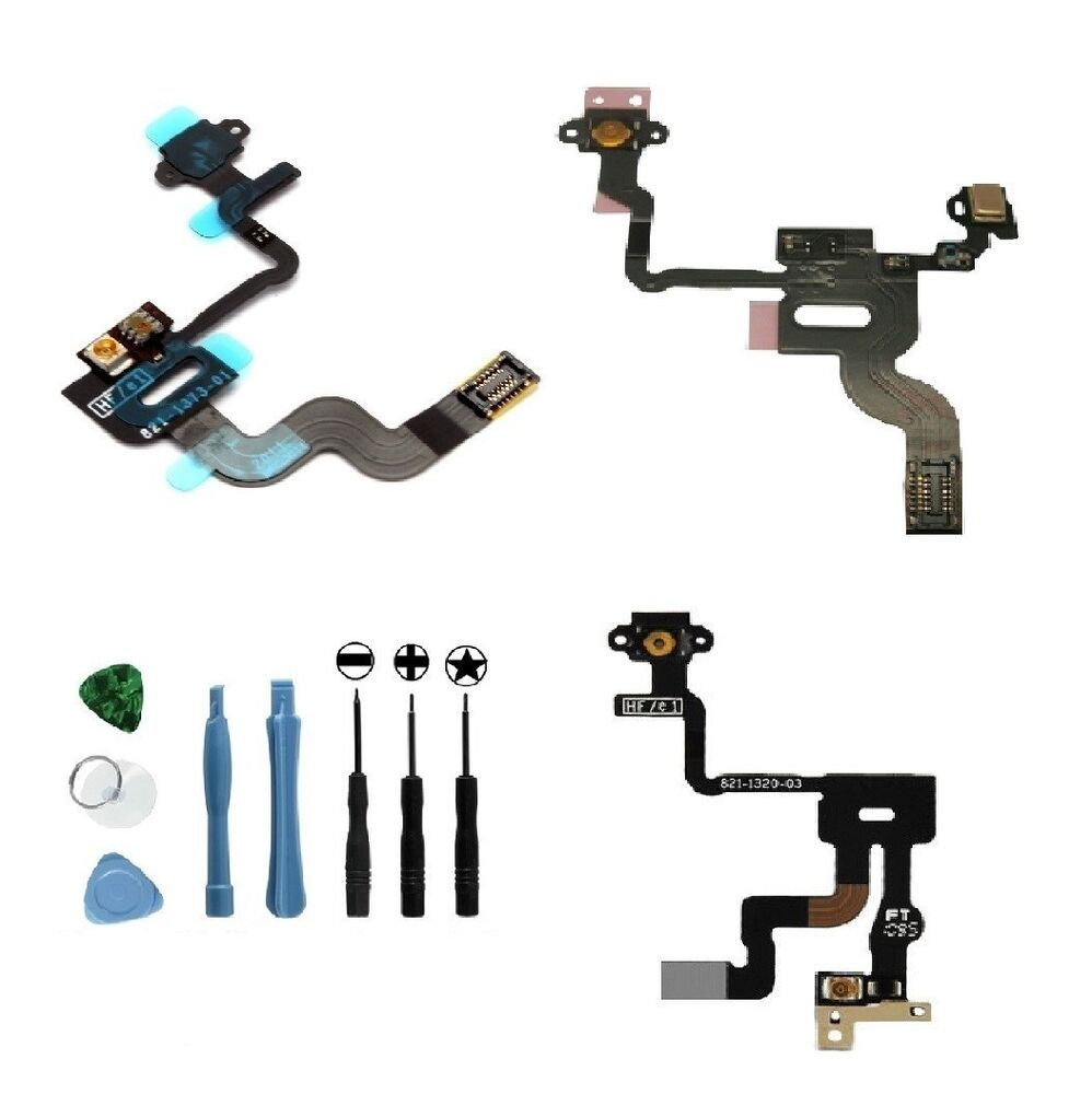 Cdma Iphone 4 Proximity Sensor Cable : Power button proximity light sensor induction flex cable