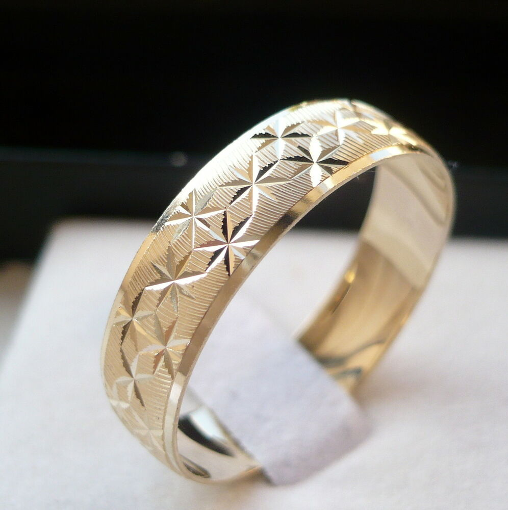 New Arrival 10k Solid Gold Men S Women S Wedding Band