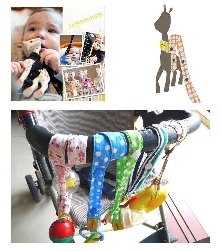 High Chair Toy Holder : Toy saver sippy cup baby bottle strap holder for stroller