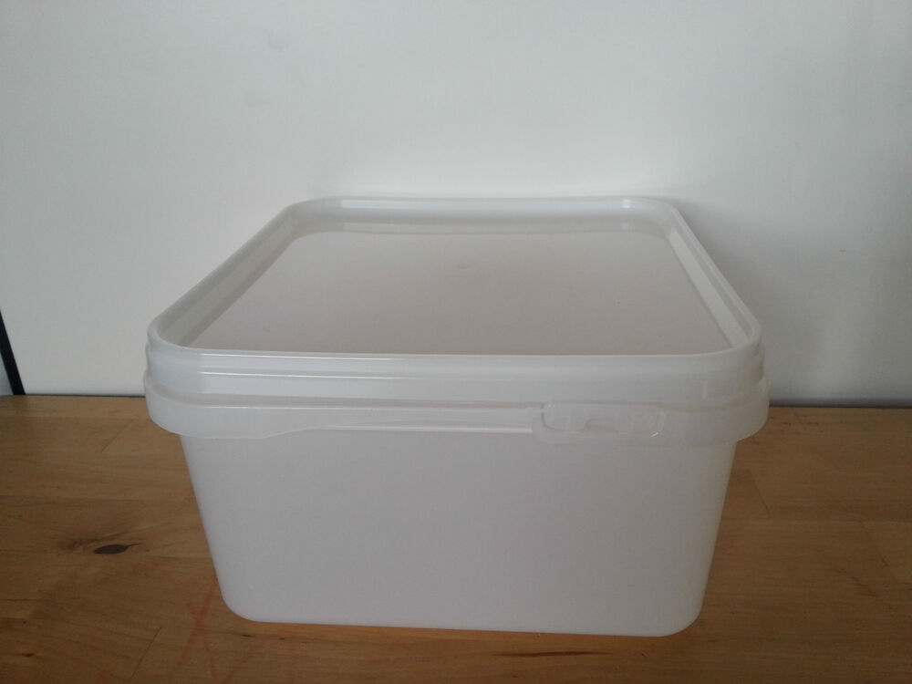 Plastic Ice Cream Container With Lids For Food Storage