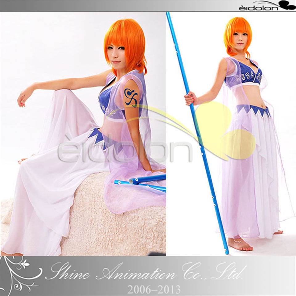 EE0116AD One Piece Nami Cosplay Costume