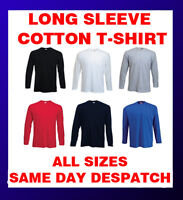 Fruit of the Loom Long Sleeve Value Cotton T-Shirt