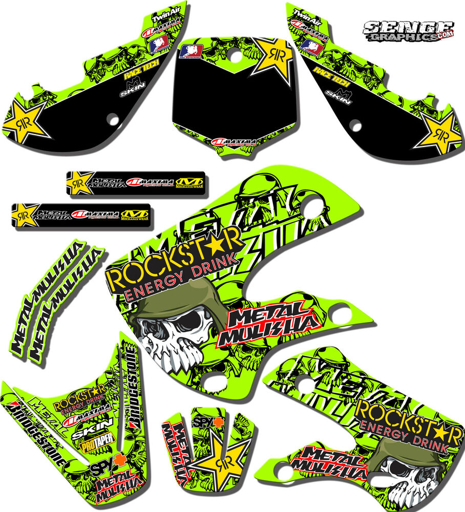 2014 2015 2016 2017 kx 85 100 graphics kawasaki kx85 kx100 for Sticker deco