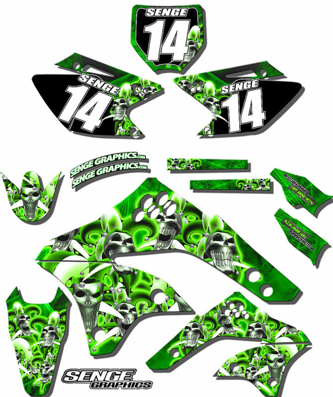 2003 2004 2005 2006 2007 2008 kx 125 250 graphics kit for Stickers murs deco