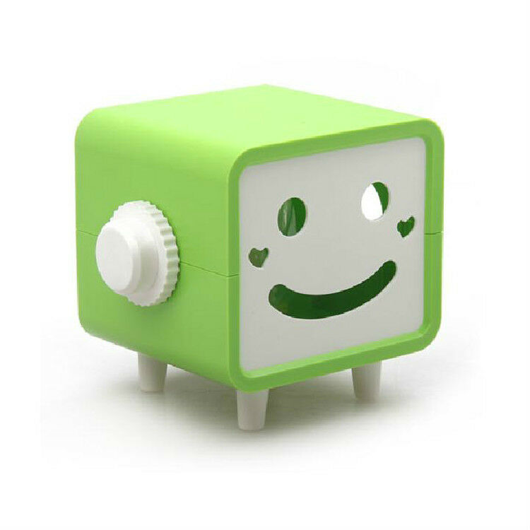 Smile cute face tissue paper box cover case holder ebay for Toilet paper roll jewelry box