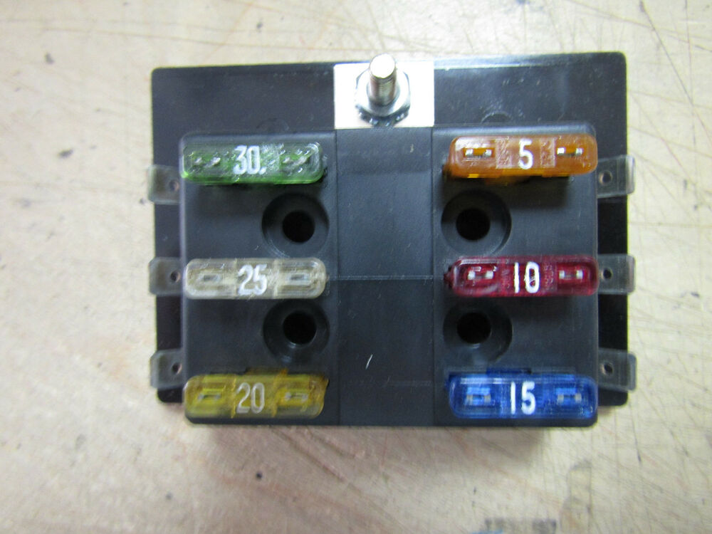 Buss atc fuse panel of fuses made in usa pick