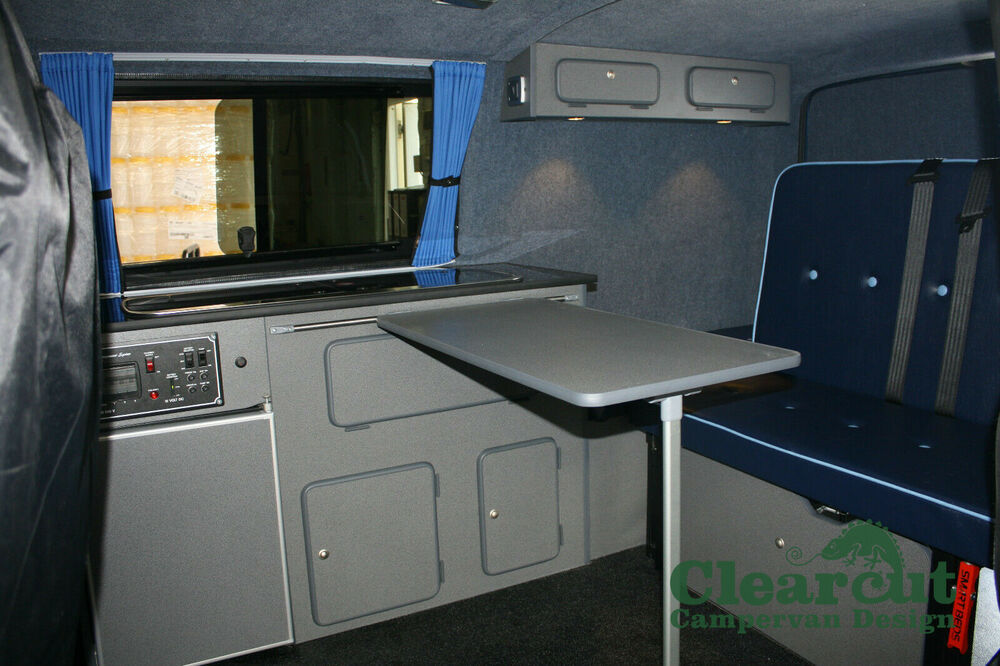 Vw Campervan Accessories >> Campervan/Motorhome/Caravan Table and Rail, - VW T4 T5, Mercedes Vito, Ducato | eBay
