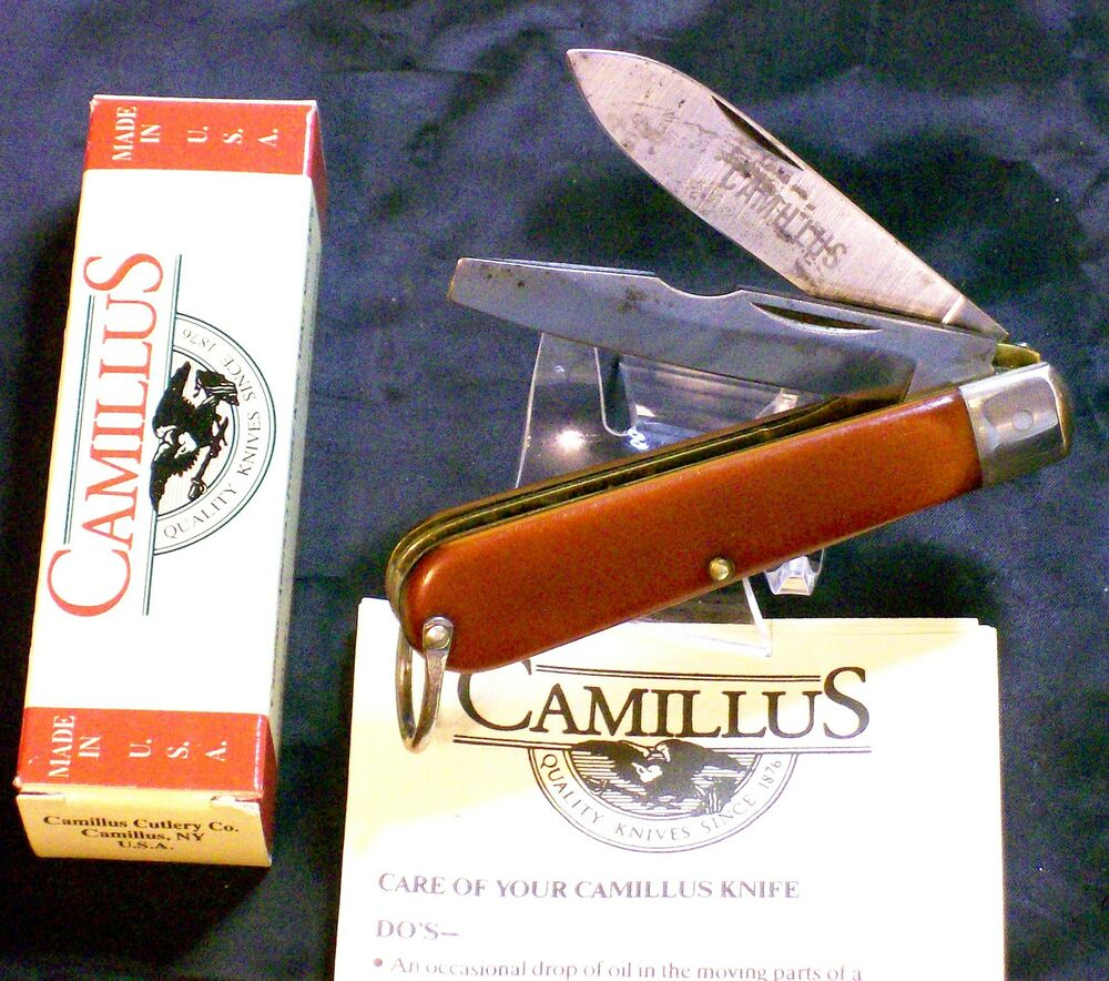 Camillus Electricians Utility Knife S C C 204 Inscribed