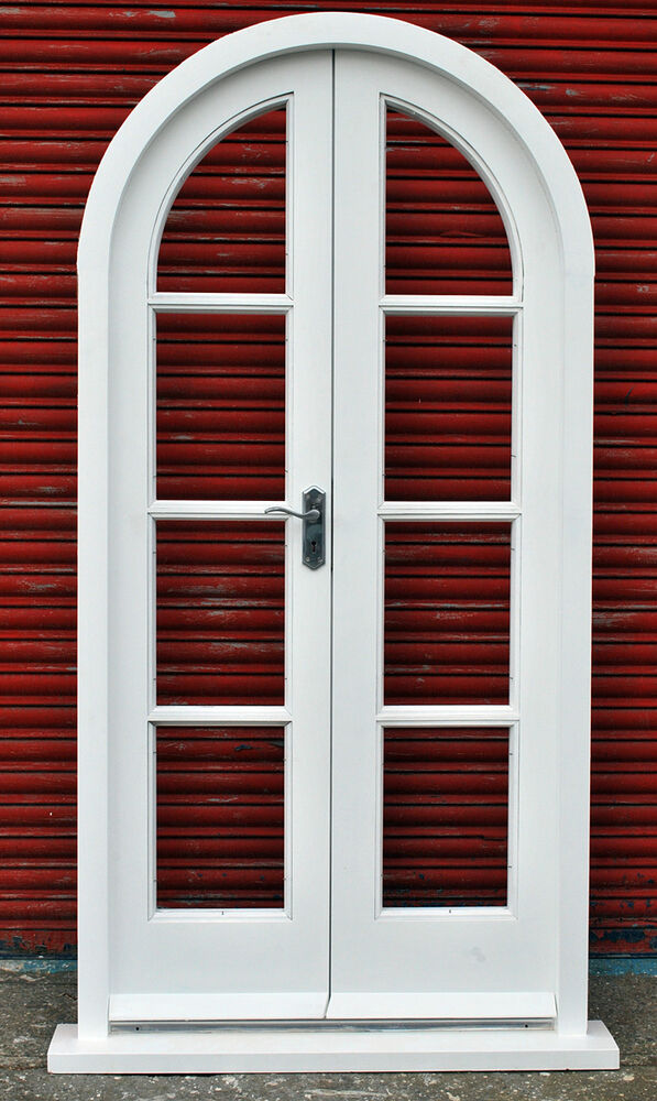 Hardwood arched french doors made to measure bespoke for Hardwood french doors