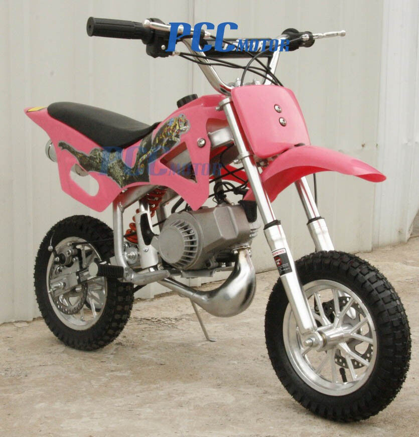 free shipping kids 2 stroke 49cc motor mini bike dirt. Black Bedroom Furniture Sets. Home Design Ideas