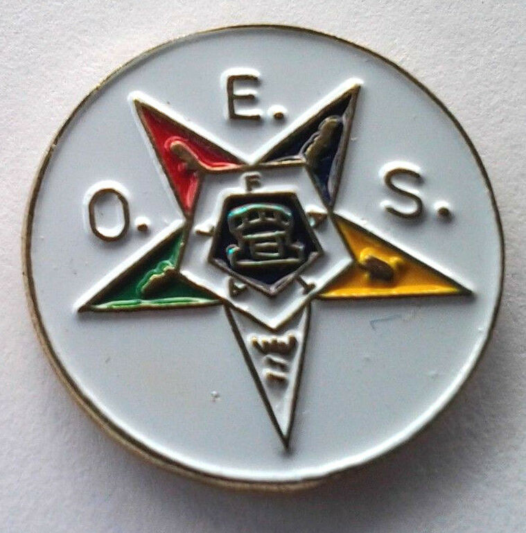 4 H Hat Pins: THE ORDER OF THE EASTERN STAR MASONIC Hat Pin P05270 HR