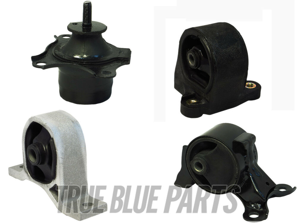 Engine Motor Trans Mounts Set Of 4 For 01 02 Honda Civic 1 7l Lx Dx Ex Gx Hx Ebay