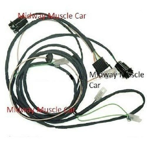 rear body tail light wiring harness 65 pontiac gto lemans. Black Bedroom Furniture Sets. Home Design Ideas