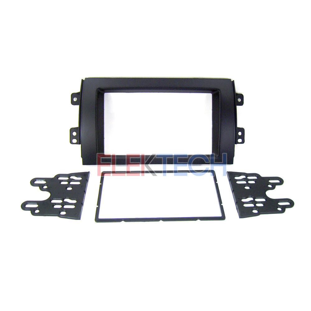 Double Din Radio Replacement Dash Mounting Install Kit For