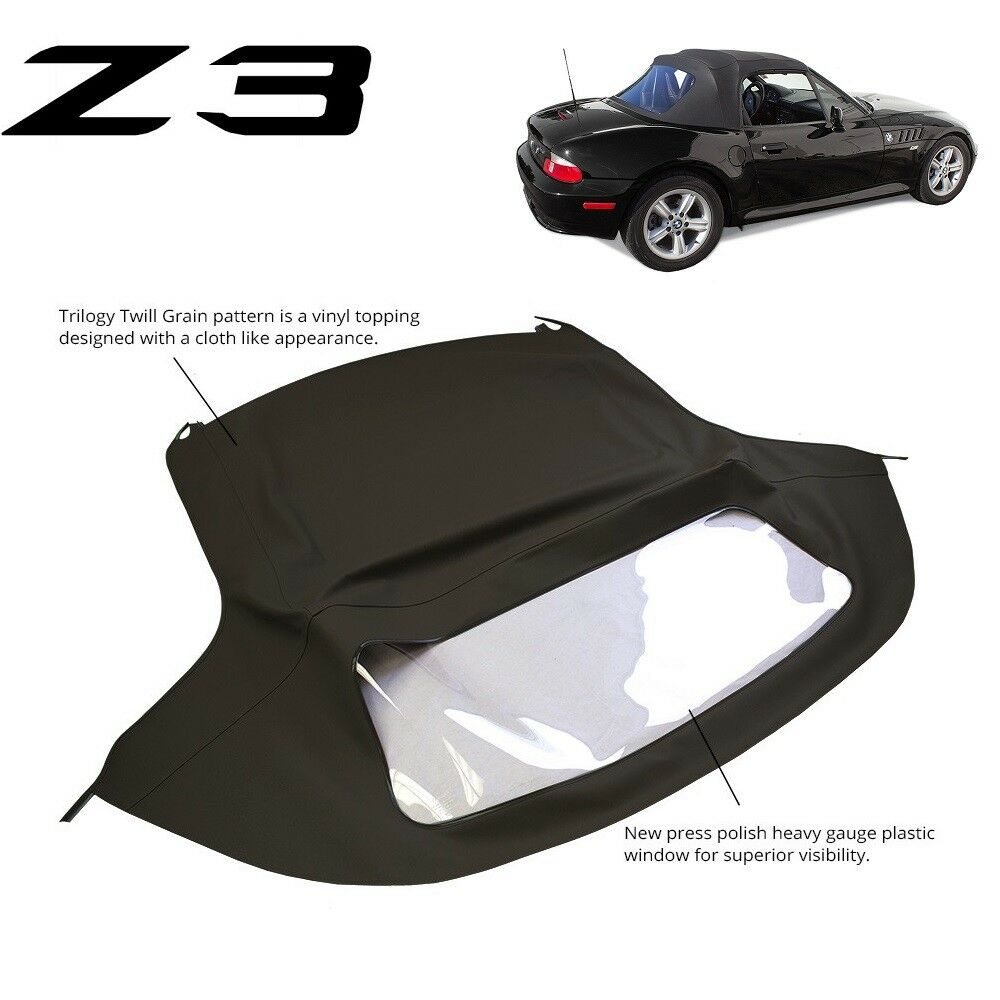 Bmw Z3 Black: BMW Z3 1996-2002 Convertible Soft Top Replacement