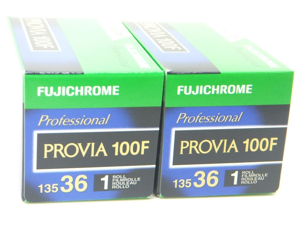 2 x fujichrome provia 100f 35mm 36 exp cheap slide film by for What is provia
