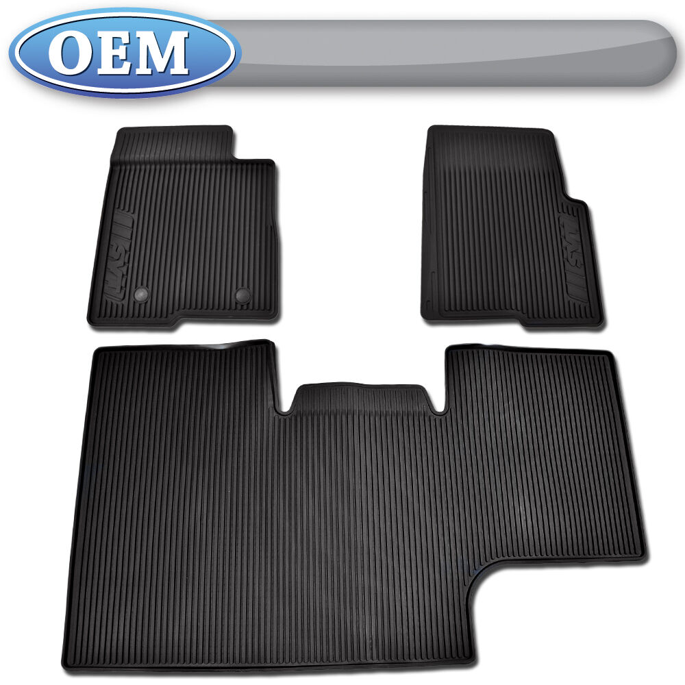Oem New 2010 2014 Ford F 150 Crew Rubber Floor Mats W Svt
