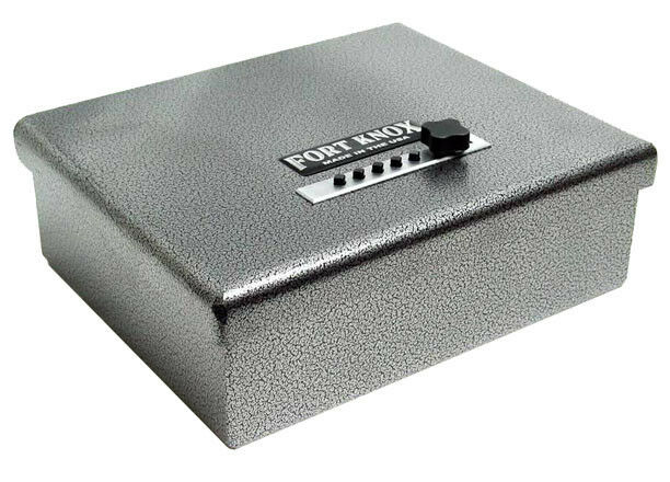 Fort Knox Original Pistol Box Handgun Safe Steel Conceal