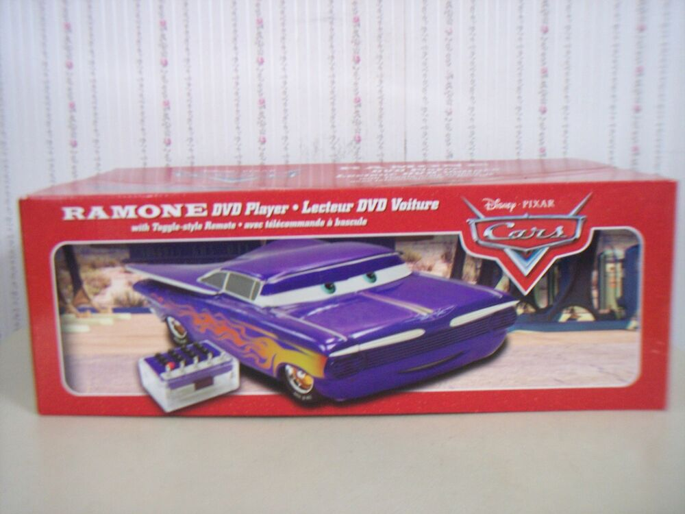 brand new disney pixar cars ramone dvd player with. Black Bedroom Furniture Sets. Home Design Ideas