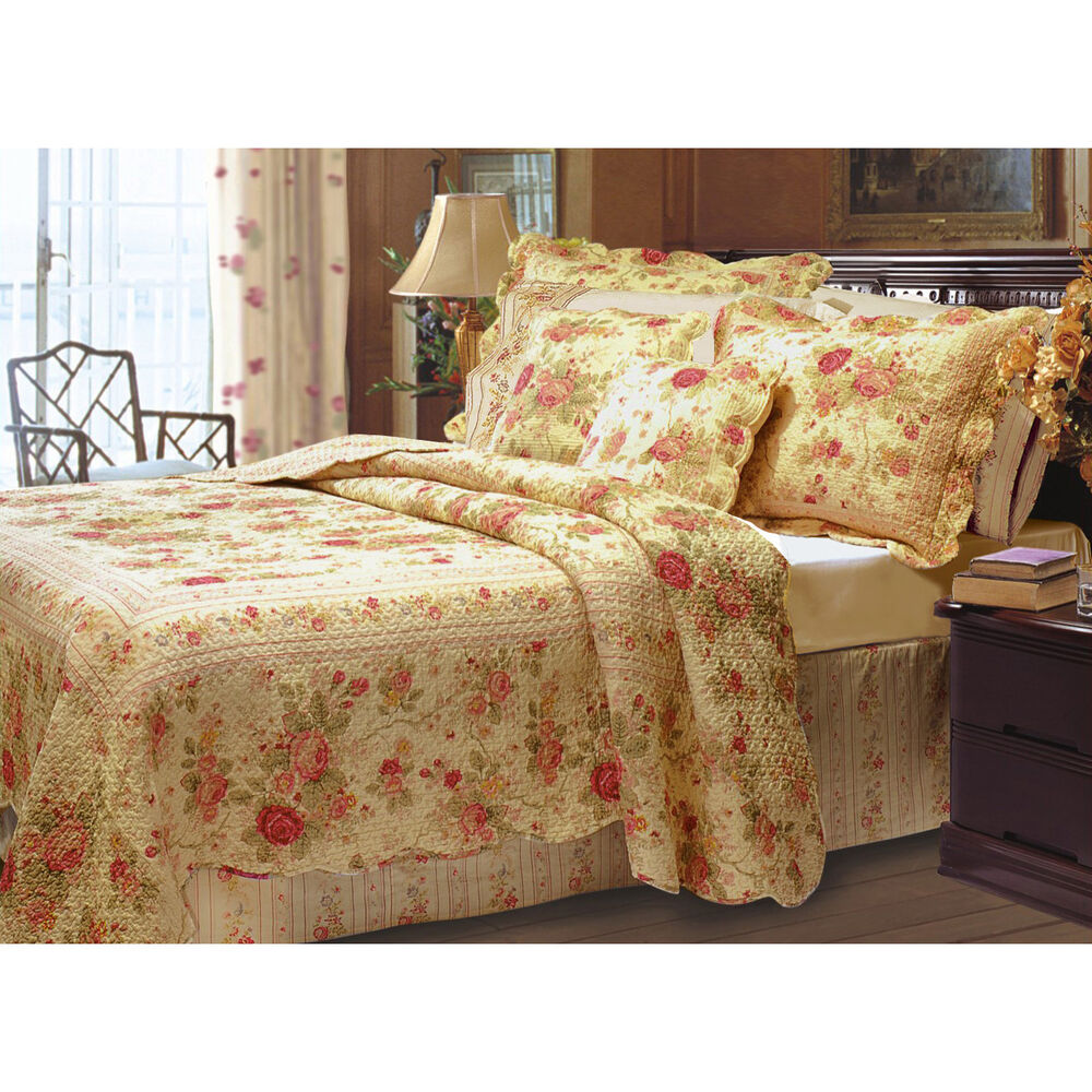 Antique Rose Bed Sheets