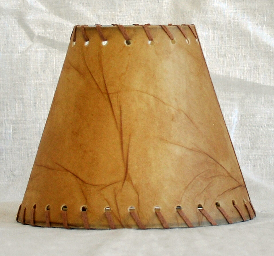 Urbanest Faux Leather Chandelier Lamp Shade Hardback