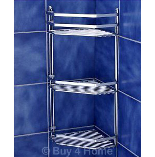 bathroom storage cabinet with baskets chrome satina corner caddy bathroom basket 22385