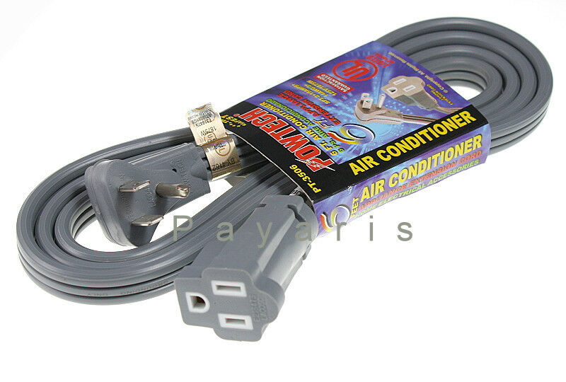 Appliance Air Conditioner Ac Extension Cable Power Cord