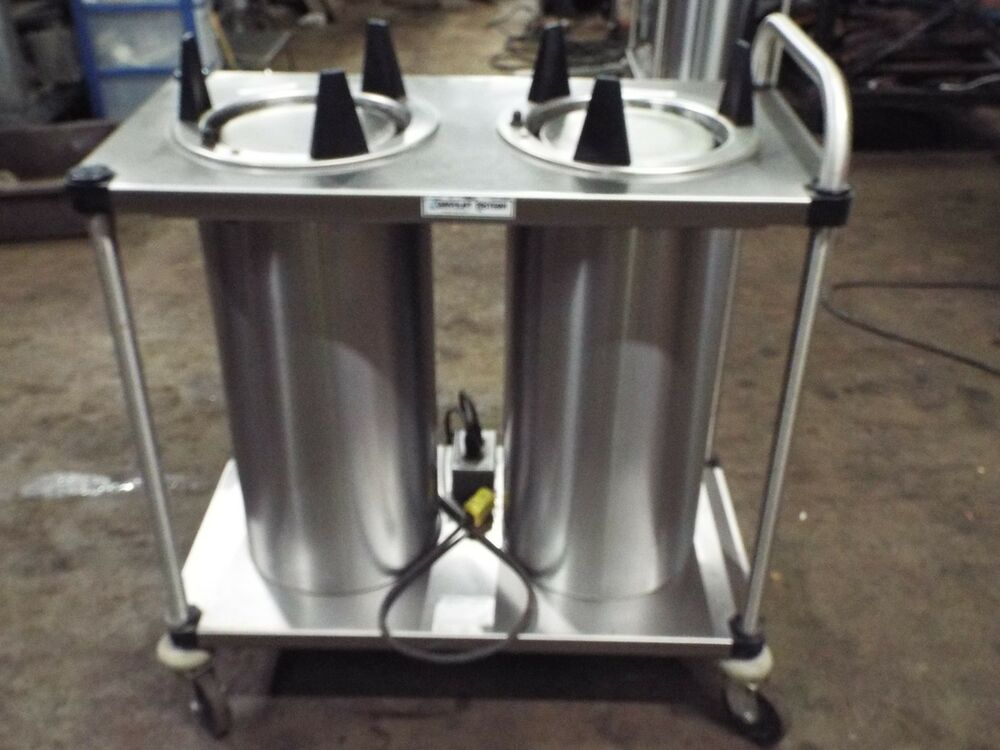 Used Plate Warmer ~ Servolift eastern heated stack mobile dish plate