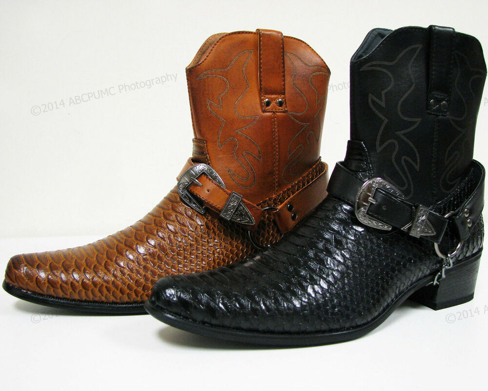 Western Leather Shoes
