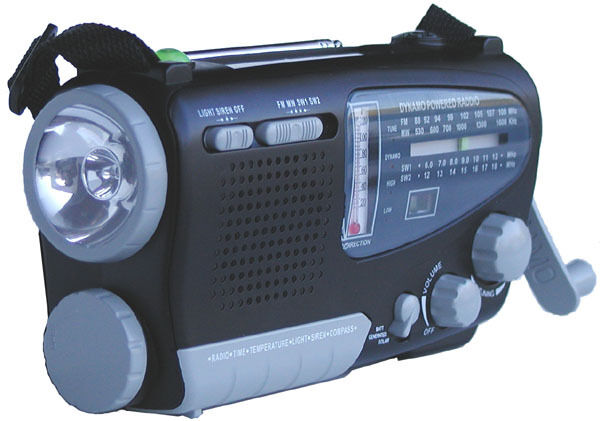 Kaito Ka888 Solar Crank Powered Portable Emergency Am Fm