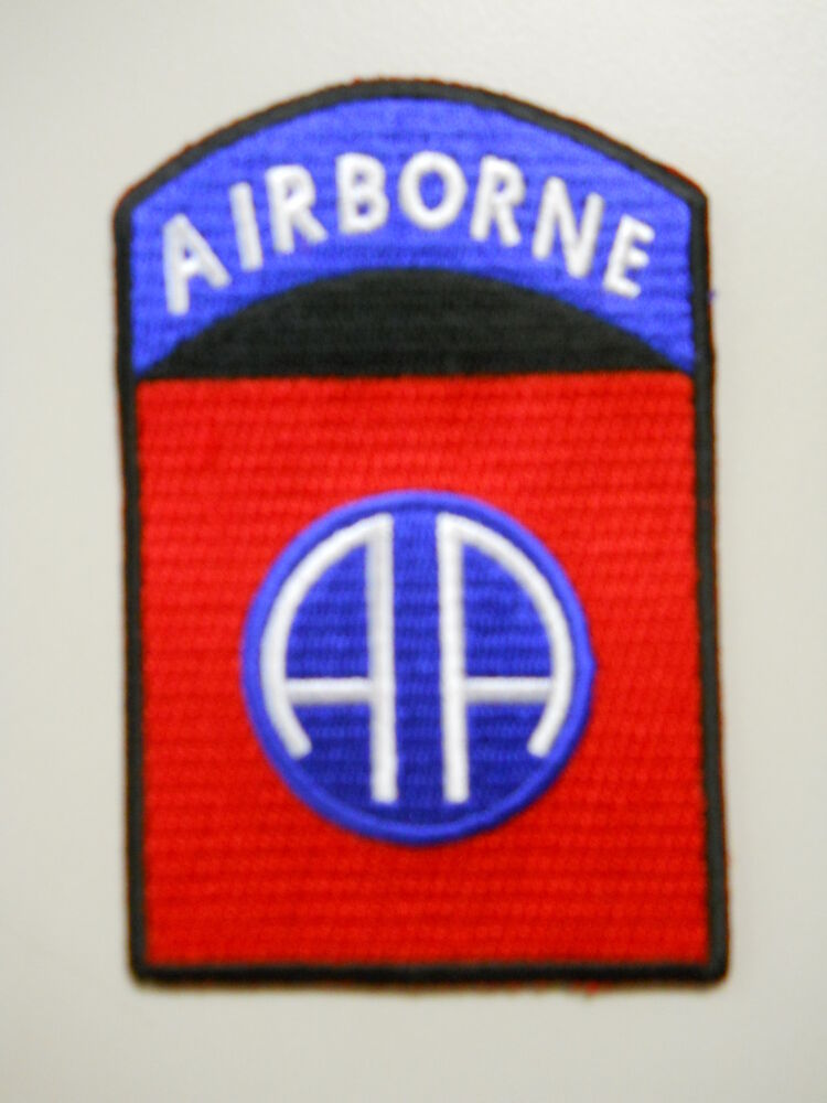 Original patch 82nd airborne us division