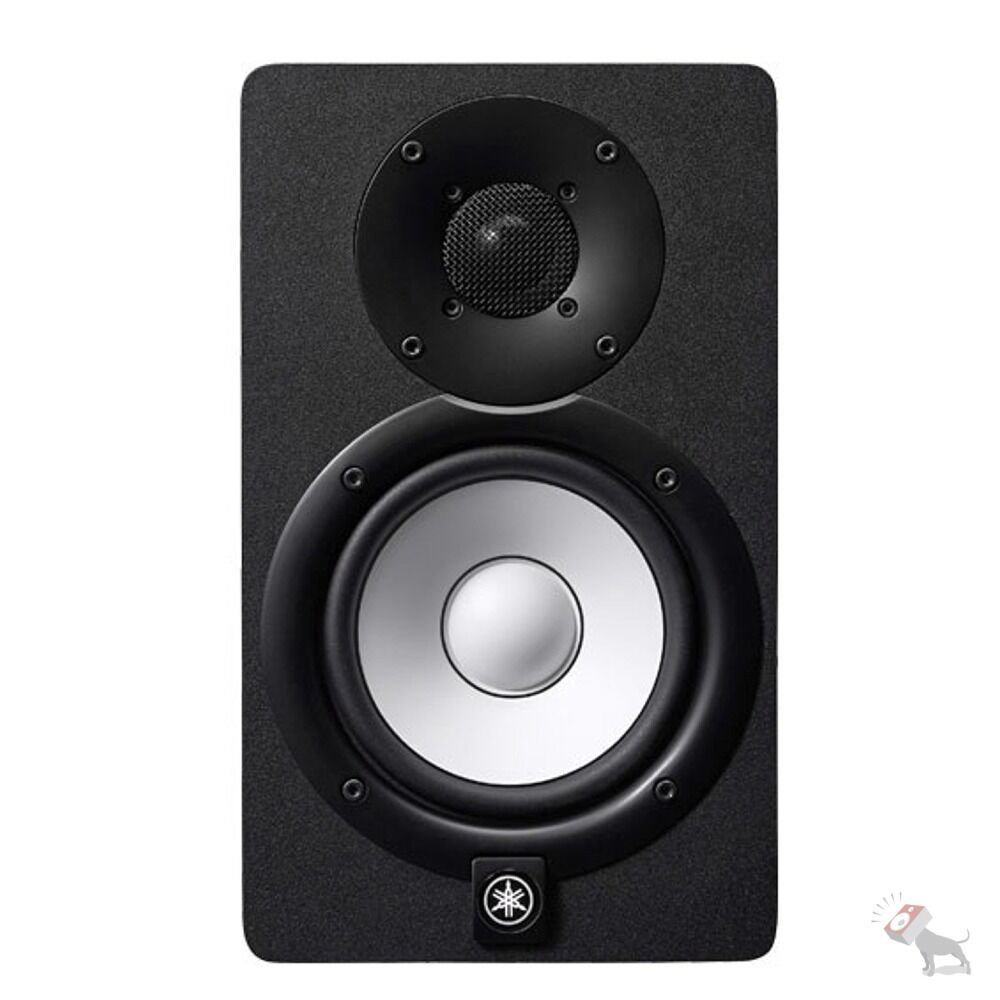 Yamaha hs7 powered 2 way bass reflex 6 5 woofer 1 for Yamaha powered monitor speakers
